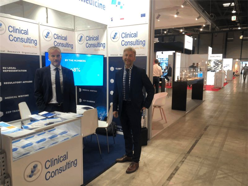 Clinical Consulting Team participated in the Swiss MedTech EXPO 2021